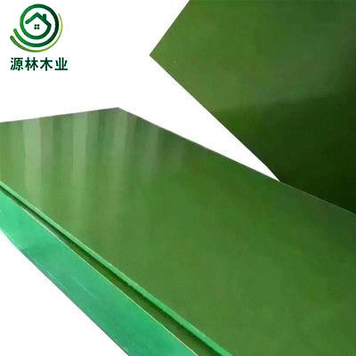 Double Sided Decoration Plastic Laminated Plywood For Real Estate Construction